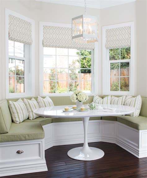 white breakfast nook furniture images about morning room ideas on window seats