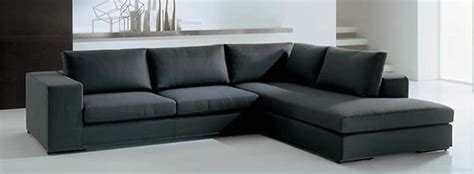 Sofa Bed Bentuk L sofa l oscar black sfl00017 buat sofa sesuai keinginan