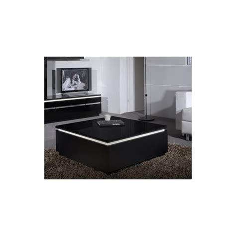 High Gloss Coffee Tables Electra Black High Gloss Coffee Table With Led Lights Coffee Tables Home Furniture