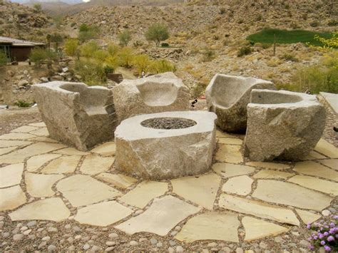 Natural Stone Fire Pit Fire Pit Design Ideas Rock Firepit