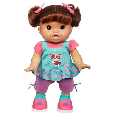 baby alive doll baby alive my baby wanna walk interactive talking