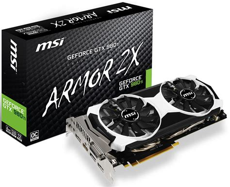 Msi Geforce Gtx 980 4096mb Ddr5 4gd5t Oc Armor 2x 201 rkezik az msi gtx 980 ti armor2x oc h 237 rblock channel