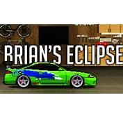 Pixel Car Racer I Brians Eclipse Replica Fast And