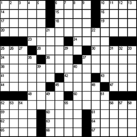An American Crossword Puzzle Sle Puzzle