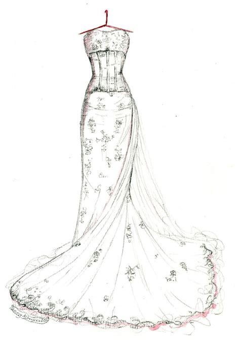 brautkleider zeichnungen wedding gown memories wrinkle in time photo