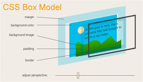 css layout box model the box model in css3
