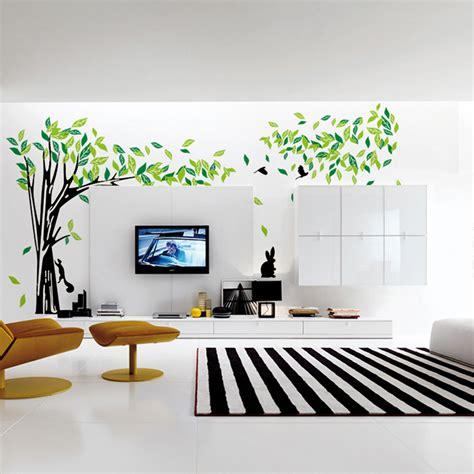 Aliexpress.com : Buy Large Green Tree Wall Sticker Vinyl