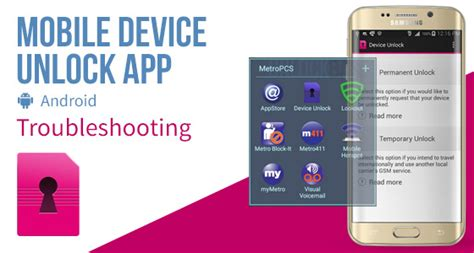 android troubleshooting mobile device unlock app android troubleshooting