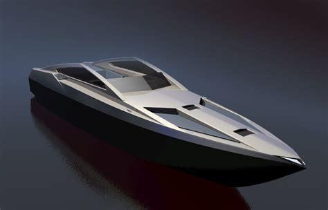 speed boat blueprint 50ft speed boat boat design net gallery