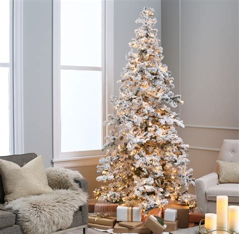 best place to buy a christmas tree near me guide to flocked trees a cozy home