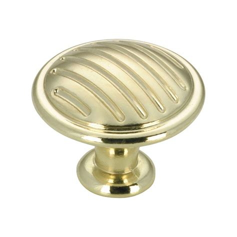 amerock mulholland 1 7 16 in rustic brass cabinet knob