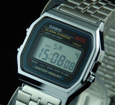 casio a159w casio alarm stopwatch vintage retro style a159w