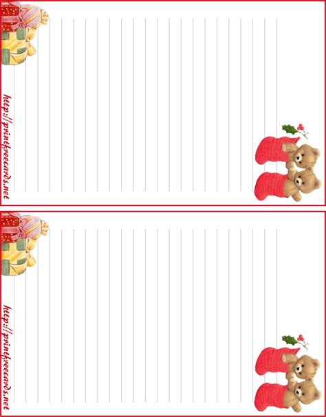 free printable lined christmas stationery paper free printable christmas letterhead free printable lined