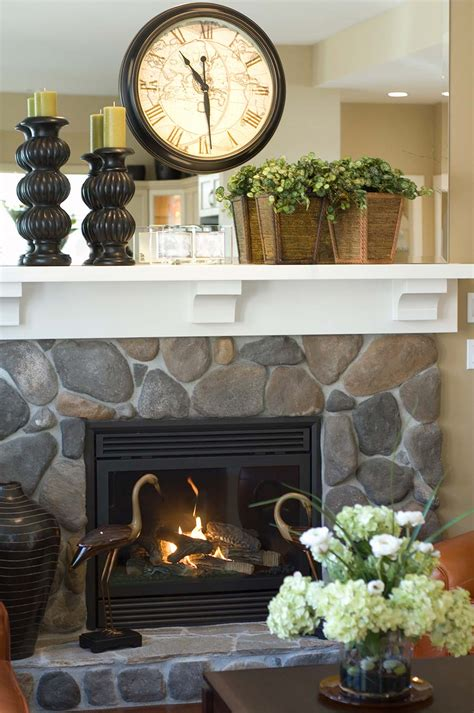 stylish fireplace mantel decor inspired home