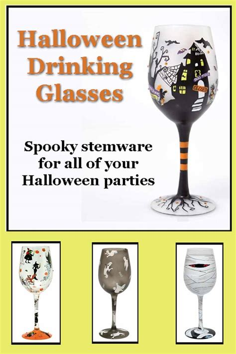 halloween barware halloween drinking glasses