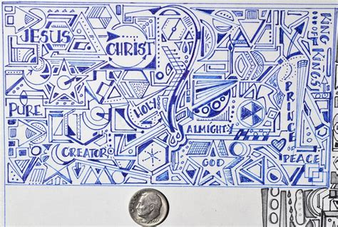 doodle of names mrs baer s doodles names of god journal ideas