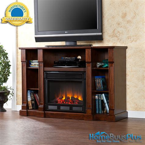 Electric Fireplaces Media Center by Electric Fireplace Media Center Espresso Storage Tv Stand
