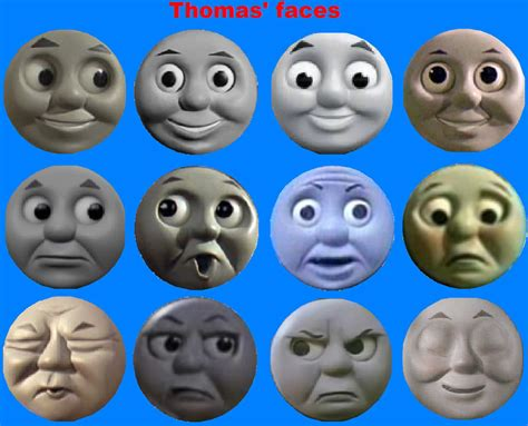 thomas faces by grantgman on deviantart