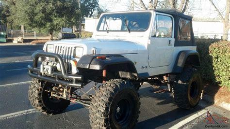 88 Jeep Wrangler Specs 1987 Jeep Wrangler Yj Vortec 350 No Reserve