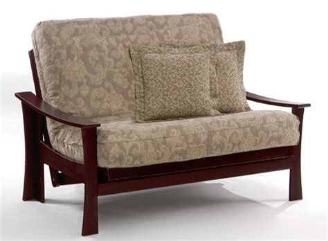 nice futons futon loveseat for nice sitting and sleeping experience