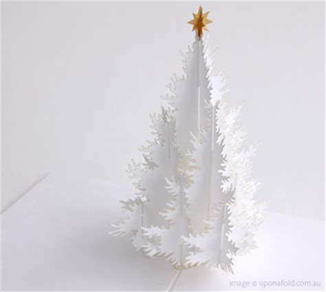 the friday five paper christmas treeswhite cabana white