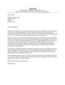 cover letter for pr cover letter for pr internship the letter sle