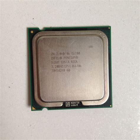 Intel Sockel 775 Cpu Liste by Intel Pentium E6700 3 2 Ghz Dual 2m 1066mhz Processor Socket Lga775 Cpu 0675901008099 Ebay