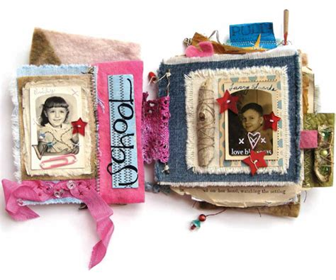 Handmade Paper Books - handmade books learn how to make a book using mixed media