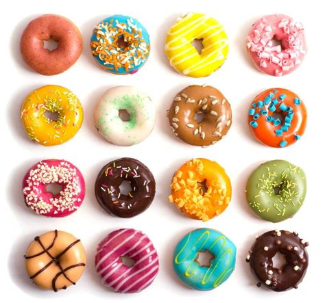 colorful donuts colourful donuts baking donuts the