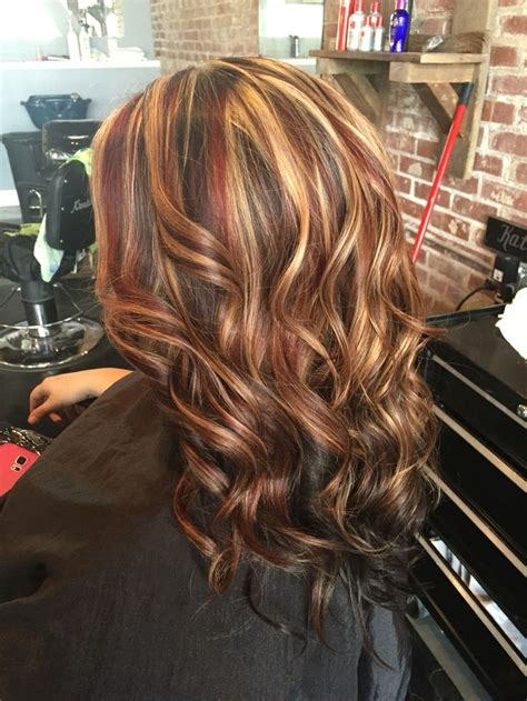 blonde highlights with dark under 25 best ideas about red low lights on pinterest red