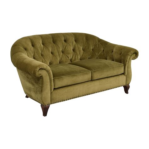 velvet loveseat 30 off ralph lauren ralph lauren green velvet loveseat