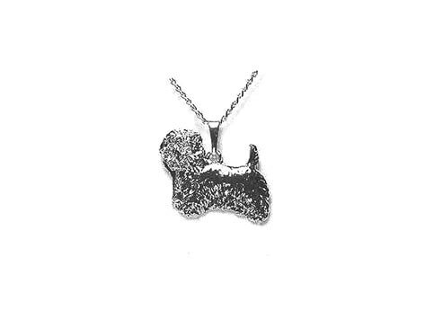Silber: Kette Mit Anhänger: West Highland Terrier ...