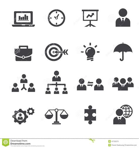 icon design management management icon stock vector image 47722273
