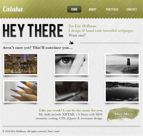 Web Design Layout Techniques | 15 best photoshop portfolio website design tutorials