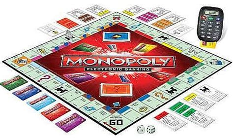 When Can You Buy Houses In Monopoly by Hasbro Monopoly Electronic Banking Multicolor A7444