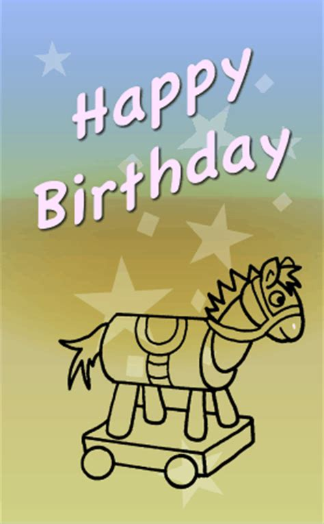 printable birthday cards horses free 6 best images of free printable horse birthday cards