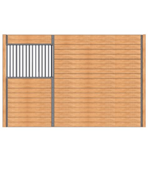 horse stall grill sections standard stall partitions standard horse stalls