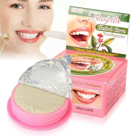 Jual Pasta Pemutih Gigi rasyan pasta pemutih gigi herbal 25g pink