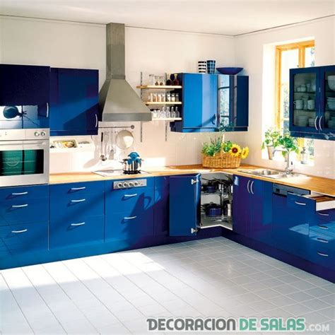blue kitchen cabinets interior design ideas cocinas en azul