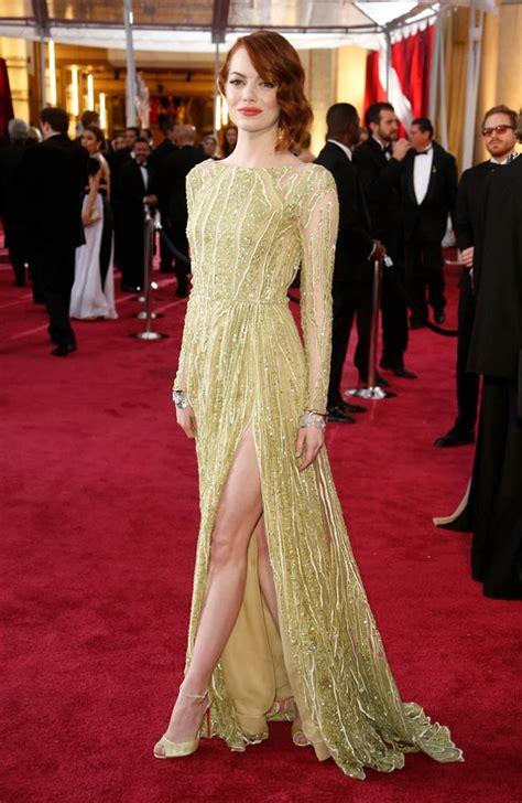 emma stone oscar movie tuesday trends top 10 academy awards dresses