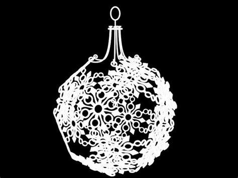 printable ornaments 3d snowflake christmas ornament 3d model 3d printable stl