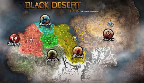 black desert world map d 233 couverte world map de black desert