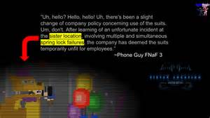 Fnaf 3 sister location theory by bonniemangle on deviantart