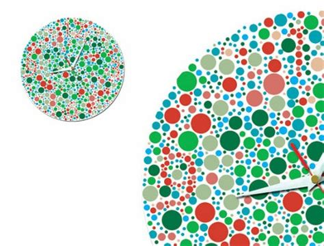 This Picture Will Make You Blind For 1 Minute color blind clock