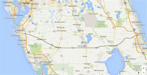 Route Through Florida Cattle Country You Will See Miles Of Cattle | florida road trips on the east west highways