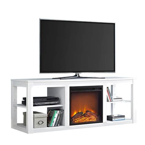 white fireplace tv stand fireplace tv stand in white 1816296com