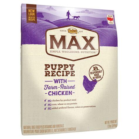 nutro max puppy nutro max puppy recipe with farm raised chicken petco