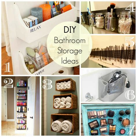 homemade bathroom storage ideas almacenamiento ideas pr 225 cticas para los manitas de la casa
