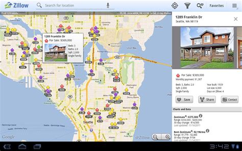 zillow debuts tablet version of real estate app androidguys