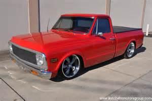 1971 Chevy Truck Wheels 1971 Chevrolet C10 Restomod Autobahn